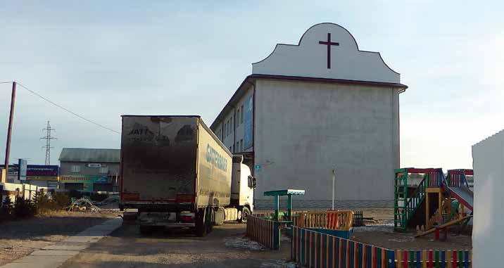 Delivering Books to Russian Churches