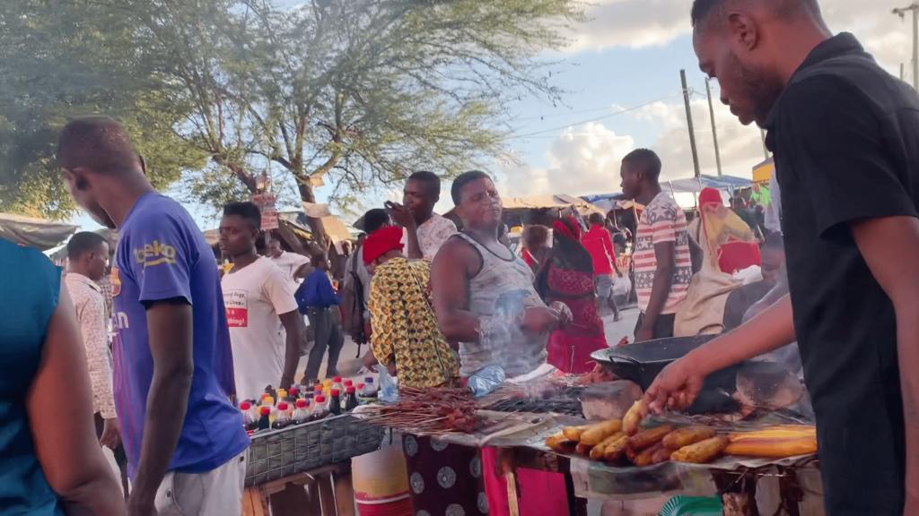 Dar es Salaam – Open air market