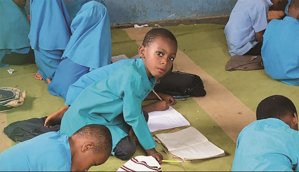 Zanzibar – Boys in an Islamic school